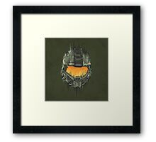 Master Chief Helmet Framed Print