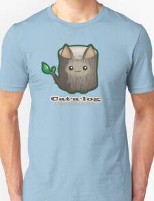 Cute Cat Pun: Cat-a-log Unisex T-Shirt
