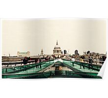 St Paul's from across the river Poster