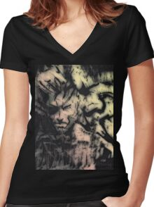 Warmongers Women's Fitted V-Neck T-Shirt