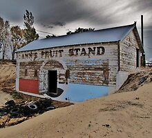 Old Retired Fruit Stand by trueblvr