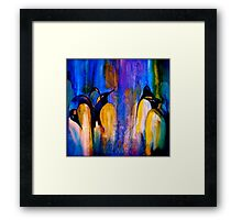 The Meeting At Night... Framed Print