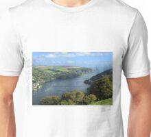 The River Dart Estuary. Unisex T-Shirt
