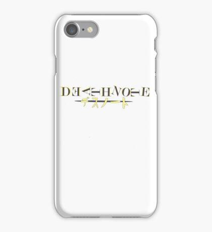 Deathnote iPhone Case/Skin