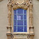 Ornate Window  by Bob Hortman