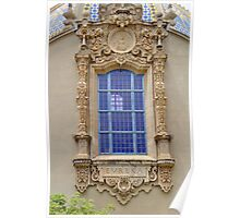 Ornate Window  Poster