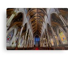 CATHEDRAL OF THE HOLY CROSS Metal Print