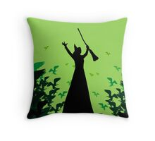 Wicked - Elphaba's Untold Story Throw Pillow