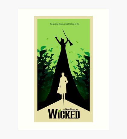 Wicked - Elphaba's Untold Story Art Print
