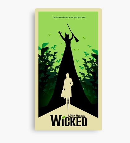 Wicked - Elphaba's Untold Story Canvas Print