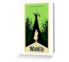 Wicked - Elphaba's Untold Story Greeting Card