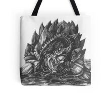 Giant Snapping Dragon Turtle Tote Bag