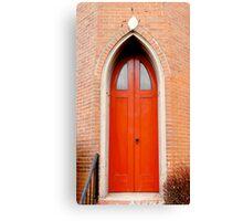 Gothic Doors Canvas Print