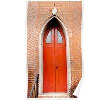 Gothic Doors Poster