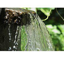 Refreshing Rush Photographic Print