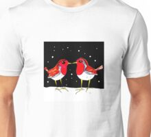 Kissing Robins Unisex T-Shirt
