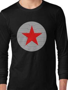 Winter Soldier - Shield Long Sleeve T-Shirt