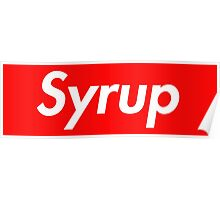 Syrup Poster
