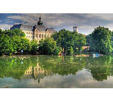 Flood in Győr Photographic Print