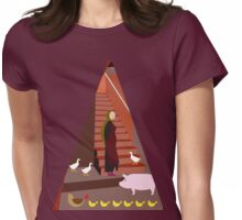 Domestic animals  Womens Fitted T-Shirt