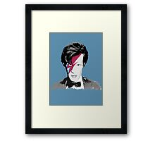 Doctor Who / Ziggy Stardust Framed Print