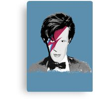 Doctor Who / Ziggy Stardust Canvas Print