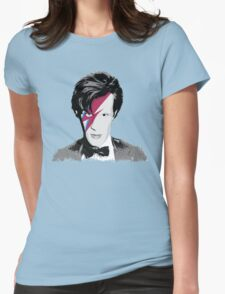 Doctor Who / Ziggy Stardust Womens Fitted T-Shirt