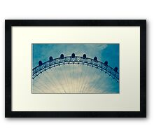 Top of the London Eye Framed Print