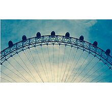 Top of the London Eye Photographic Print
