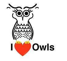 I Love Owls by ArtwithDog
