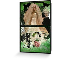 The Barbie Bride Stripped Bare By Her Bachelors, Even Greeting Card