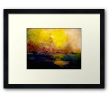 An Evening Near The City Framed Print