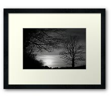 When Color Fades Away © Framed Print