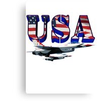 US Air Force Thunderbirds Canvas Print