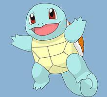 #07 Squirtle Pokemon by razor93