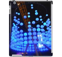 Blue Bubble Lights iPad Case/Skin