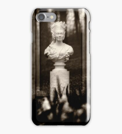 Victorian Lady Statue Bust iPhone Case/Skin