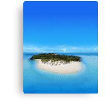 Bacardi Island in Samana Bay, Dominican republic Canvas Print