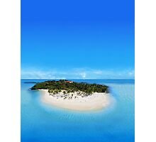 Bacardi Island in Samana Bay, Dominican republic Photographic Print