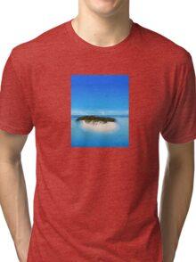 Bacardi Island in Samana Bay, Dominican republic Tri-blend T-Shirt