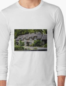 Chocolate Box Cottage Long Sleeve T-Shirt