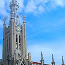 """Temples - """"Church  in Madrid (ES)"""" by Denis Molodkin"""