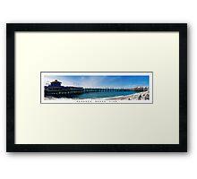 Redondo Beach Pier Framed Print
