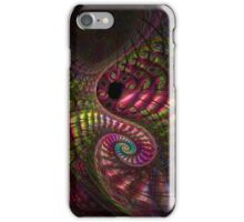 Peacock Swirl iPhone Case/Skin
