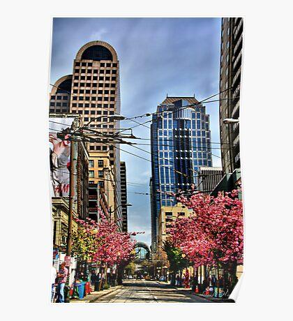 Seattle Spring Poster