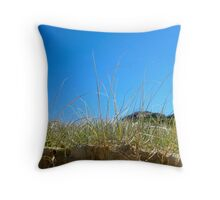 Sandon Sand Dune Grass Throw Pillow