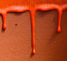 Dripping paint by Jeffrey  Sinnock