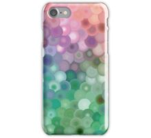 Sliced color discs iPhone Case/Skin