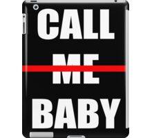 EXO chen Call me baby iPad Case/Skin