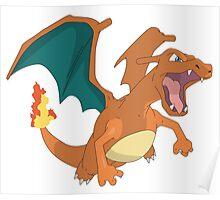 #06 Charizard Pokemon Poster